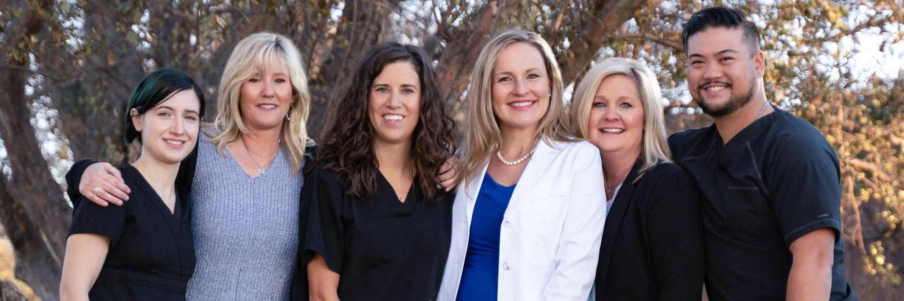 Our team strives to help you feel safe, informed, comfortable, and at home. Together, we have more than 50 years of experience in all aspects of dentistry. All of our employees work together to make your dental visit the best it can possibly be. Getting t